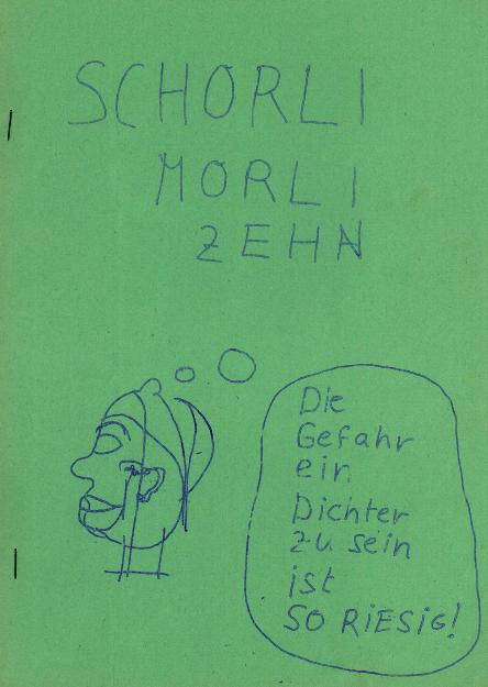 Cover Schorli Morli 10 von Peer Schröder_500