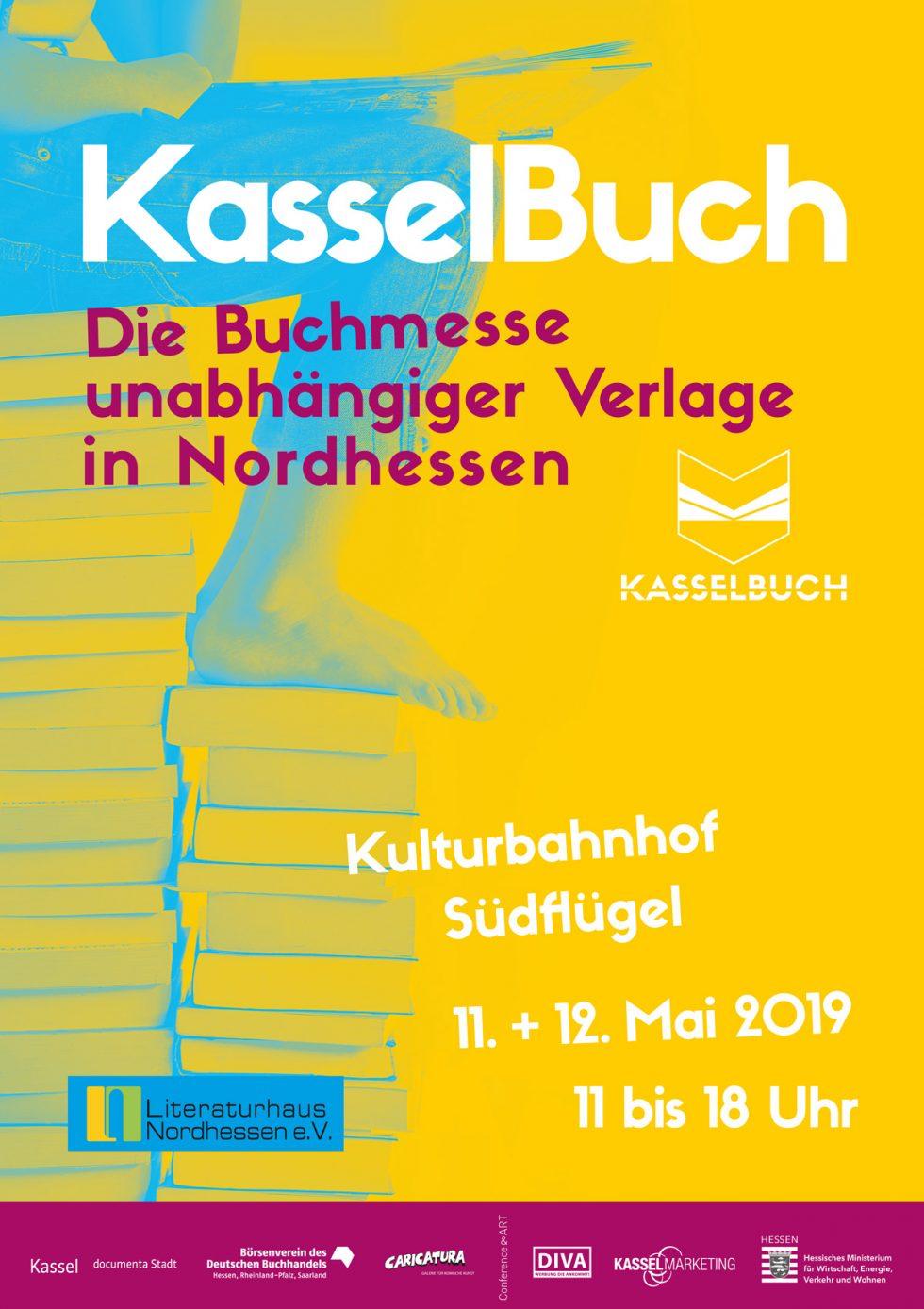 KasselBuch 2019, Plakat